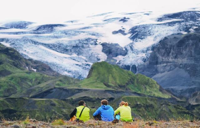 Ледник на вулкане
