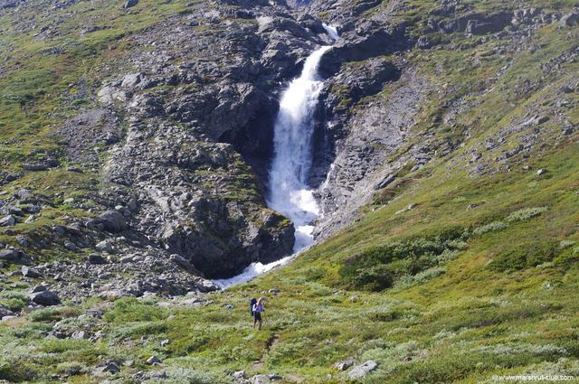 Поход в горы Норвегии