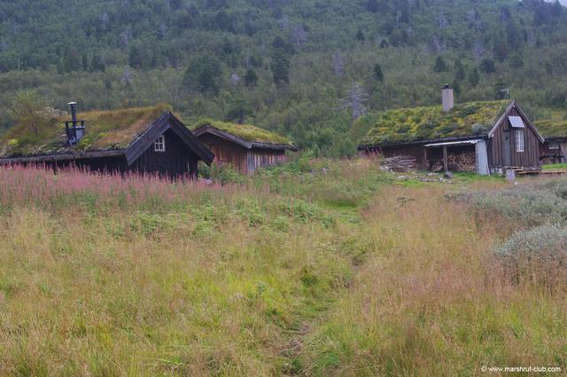 Горные хижины Норвегии