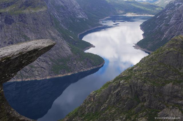 Популярная достопримечательность Норвегии
