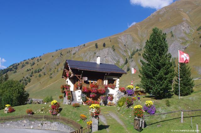 Домик в Швейцарии