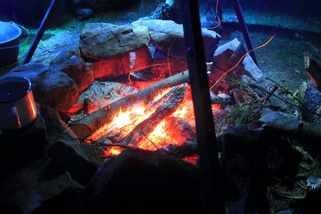 Ужин в горах