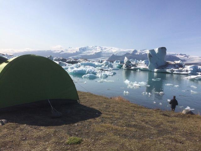 Утро с видом на айсберги