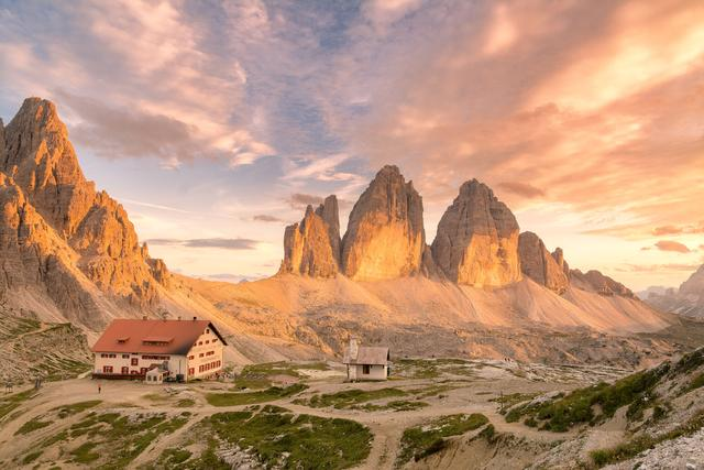 Поход в Доломитовые Альпы