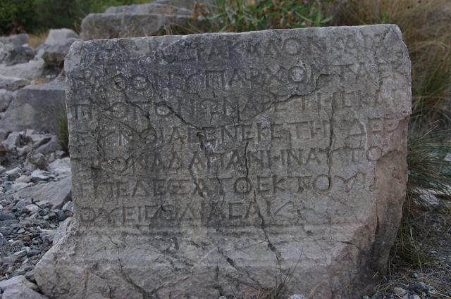 камень возле химеры