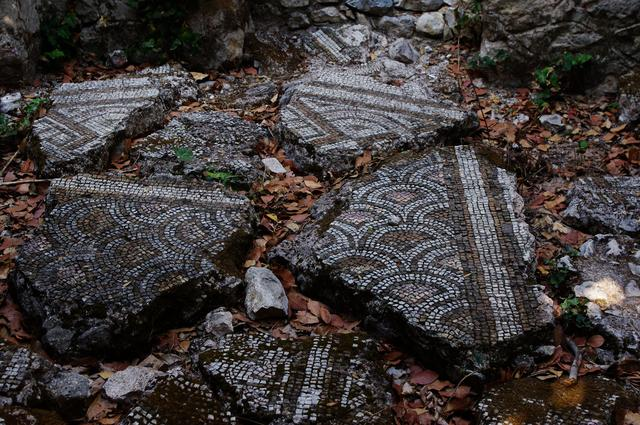 мозаика в Олимпосе