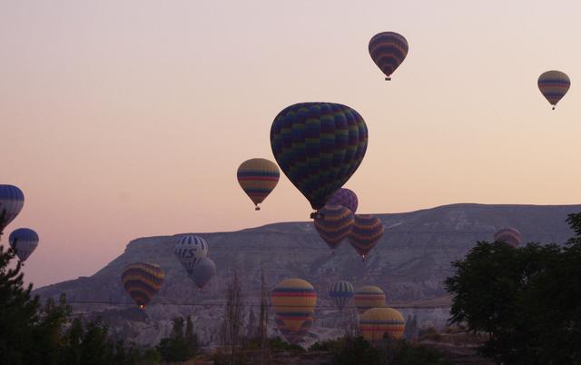 повітряні кулі в Каппадокії