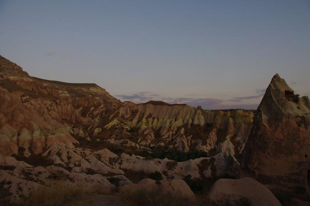 кольорова долина в Каппадокії