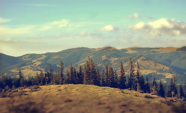 Поход с видом на Черногорский хребет