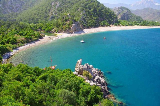 Бирюзовое море Турции