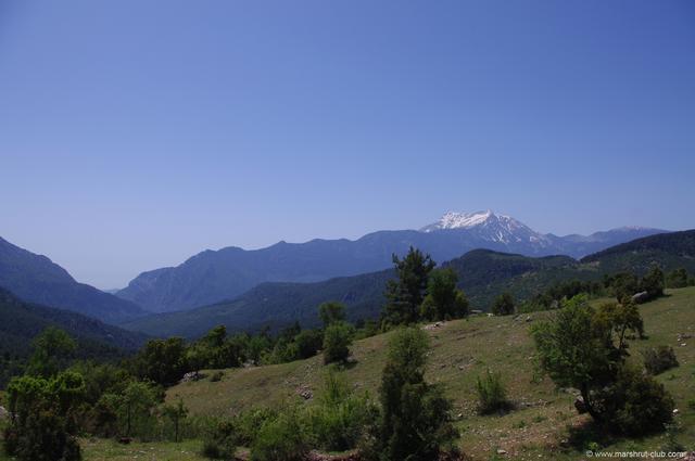 гора Олимп в Турции