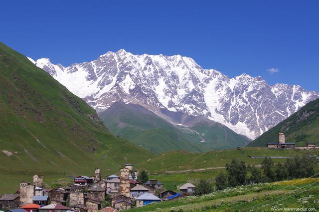 Самое высокое село Грузии