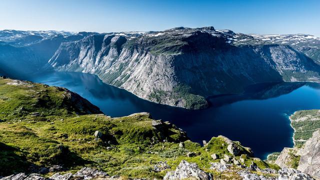 треккинг в норвегии