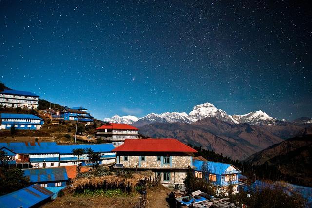 Горное селение непальцев