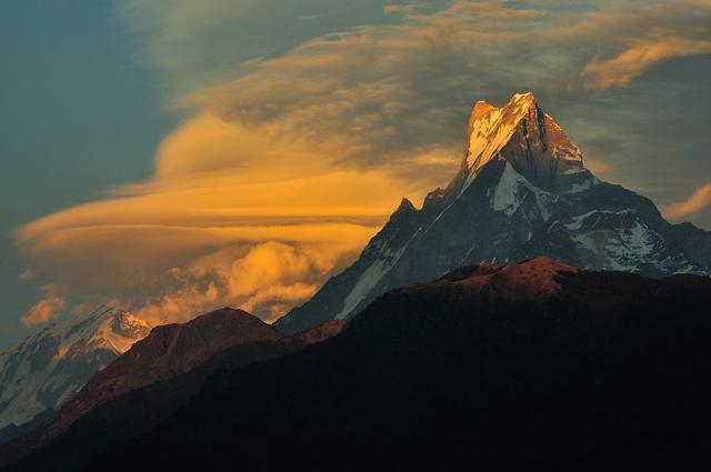 Непокоренная вершина Непала