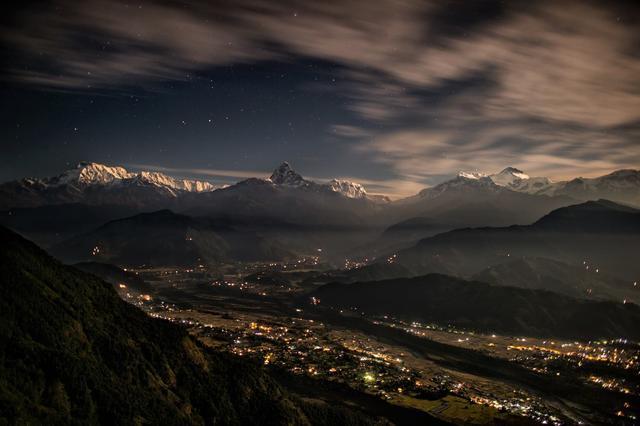 Ночь в Непале