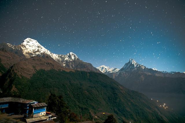 Звездное небо Непала