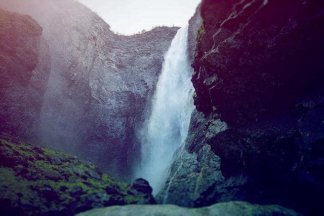 Каньон водопада