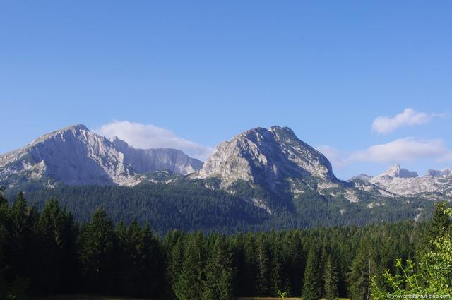 Утро в горах Черногории