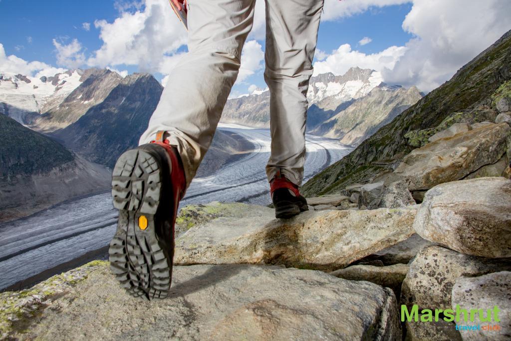 Правильная обувь для походов в горы