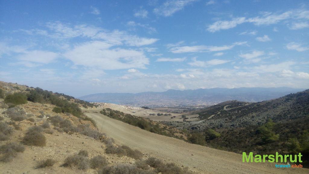 Безлюдные горы Кипра