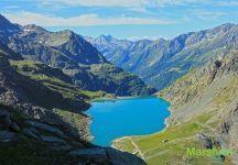 Водохранилище в горах