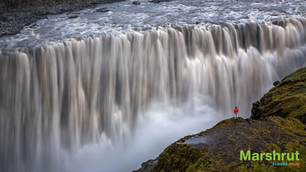 Самый большой водопад Европы
