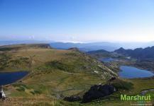 Озера в горах Болгарии