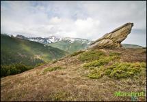 Отроги Черногорского хребта
