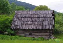 Деревянная постройка