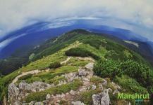 Маршрут по Гуцульским Альпам