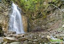 Самый высокий водопад Прикарпатья
