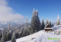 Зимний приют в горах