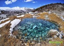 Нарзан в горах Грузии