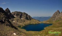 Горное озеро Мегрелии