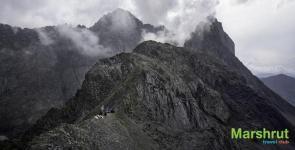 Суровые горы Грузии