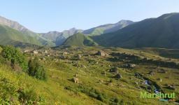Горы Хевсуретии