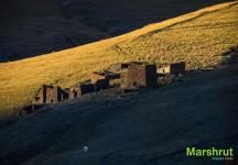 В горах Тушетии