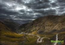 Дорога из Тушетии