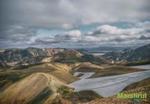 Поход по горам Исландии
