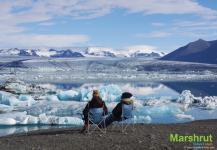 Айсберги в воде