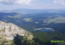 Вид с вершины Савин Кук