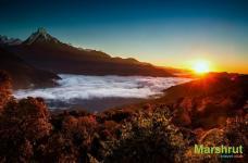 Утро в Непале