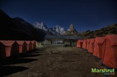 Палатки и лоджа