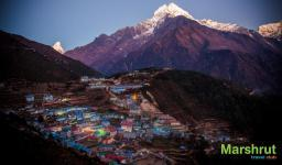 Окончание треккинга к Эвересту