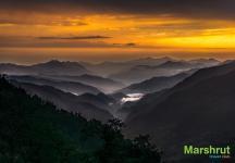 Каскады гор