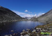 Перевал в Норвегии
