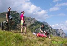 В горах Румынии