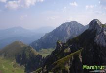 Скалистые румынские горы