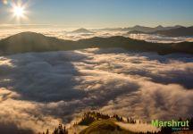 Румынские горы на рассвете
